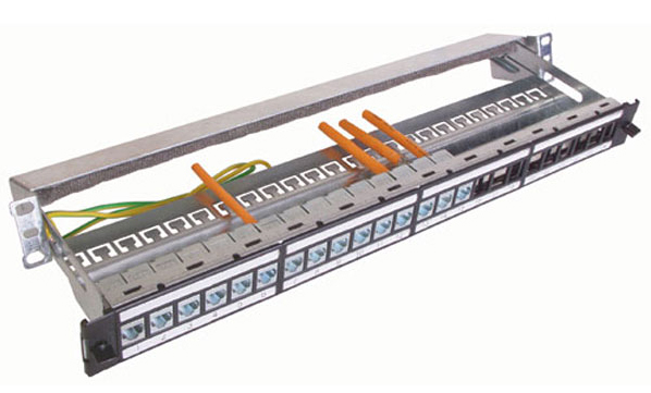category 6 shielded modular patch panel rh clarkwire com Patch Panel Template Patch Panel Template