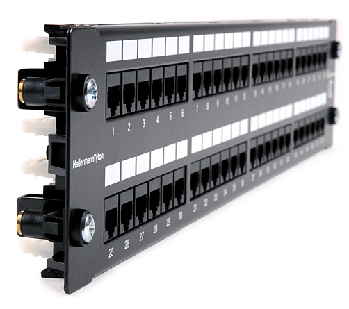 Exceptionnel Snap Into Standard Square Holes In The Cabinet U2022 Making Installation Easy  With Out The Need For Tools U2022 Patch Panel Can ...